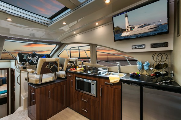 Carver C37 Coupe Galley