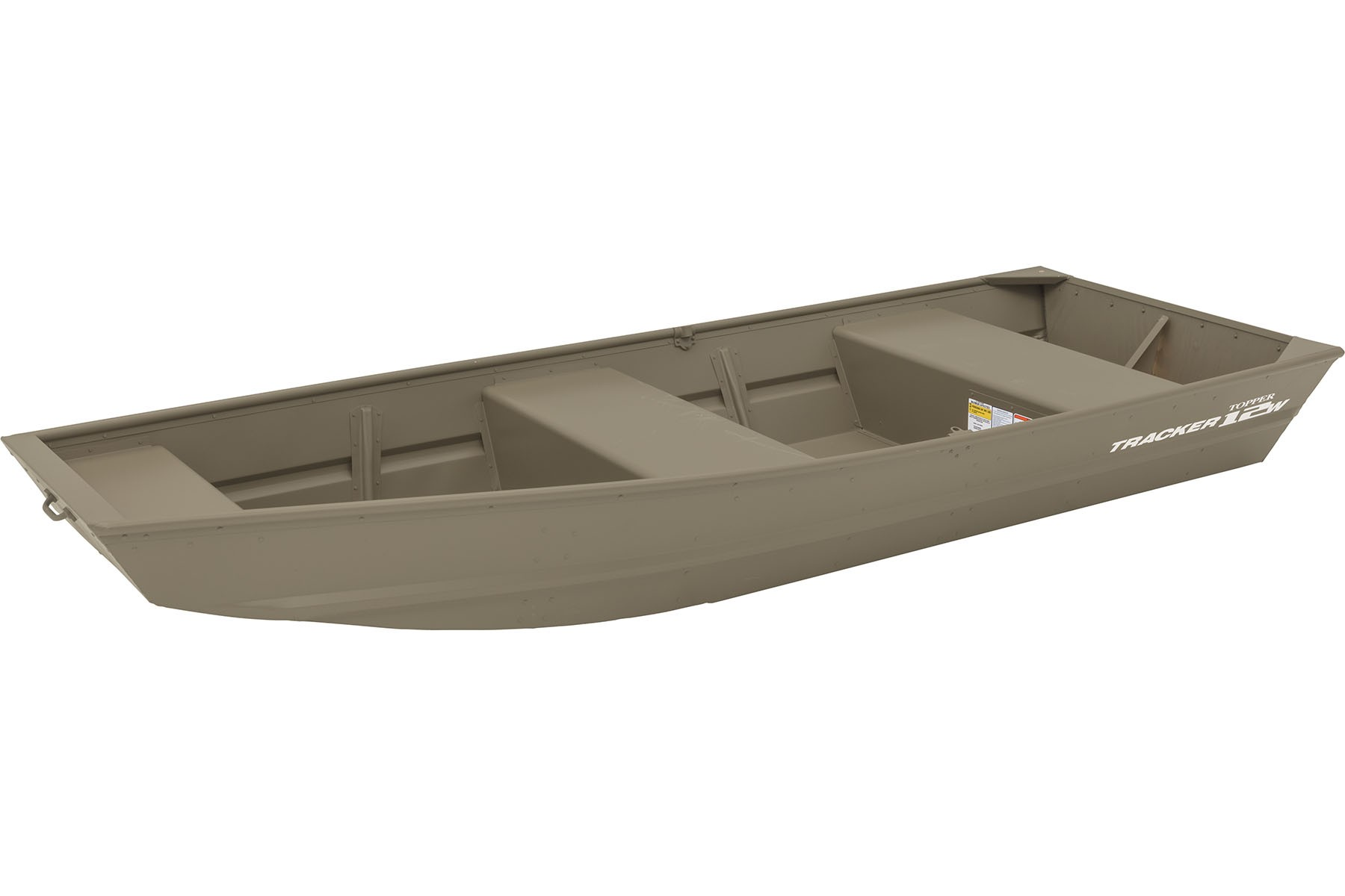 TRACKER Riveted Jon Utility Boats Topper 1236 (1)