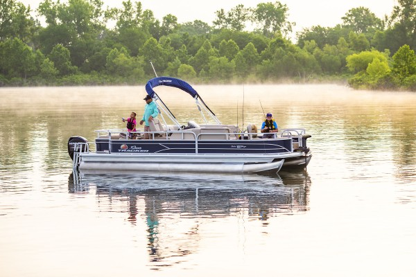 Sun Tracker Fishin Barge 22 DLX 2019 05