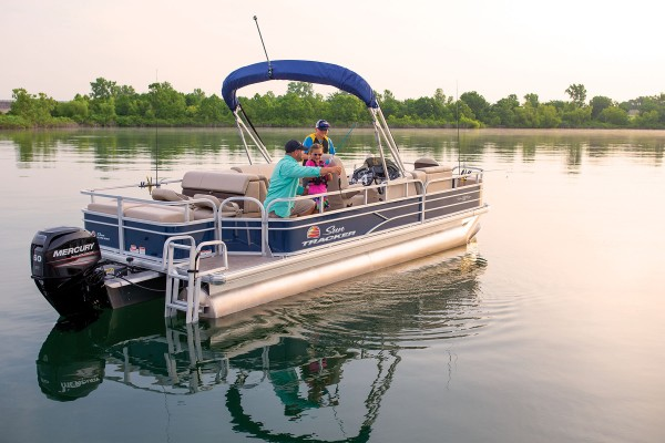 Sun Tracker Fishin Barge 22 DLX 2019 06