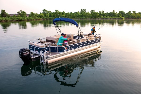 Sun Tracker Fishin Barge 22 DLX 2019 07