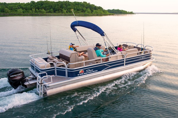 Sun Tracker Fishin Barge 22 DLX 2019 08