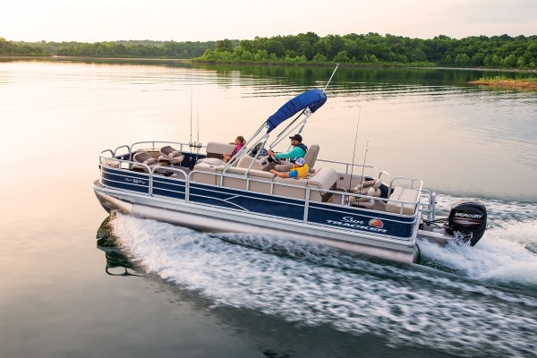 Sun Tracker Fishin Barge 22 DLX 2019 09