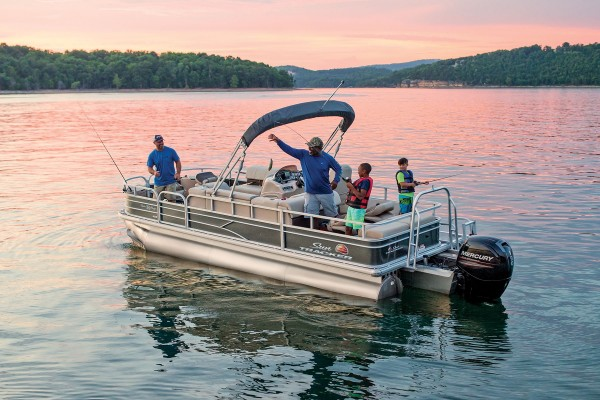 Sun Tracker Fishin Barge 22 XP3 2019 10