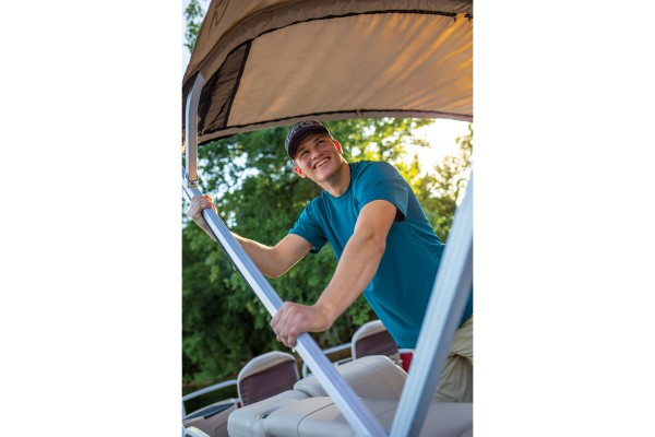 Sun Tracker Fishin Barge 24 DLX 2019 03