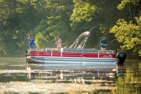Sun Tracker Fishin Barge 24 DLX 2019 05