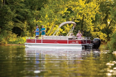 Sun Tracker Fishin Barge 24 DLX 2019 06
