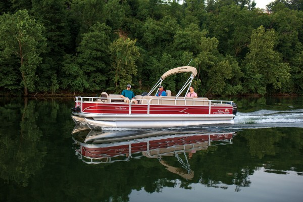 Sun Tracker Fishin Barge 24 DLX 2019 07