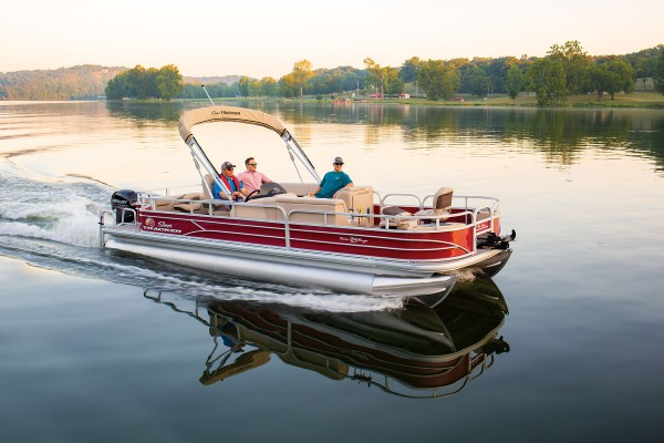 Sun Tracker Fishin Barge 24 DLX 2019 08