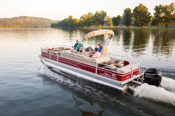 Sun Tracker Fishin Barge 24 DLX 2019 09