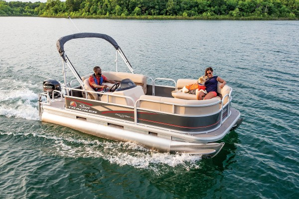 Sun Tracker Party Barge 18 DLX 2019 06
