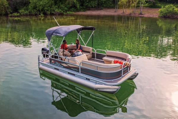 Sun Tracker Party Barge 18 DLX 2019 09