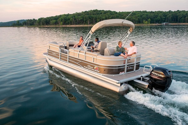 Sun Tracker Party Barge 22 DLX 2019 07