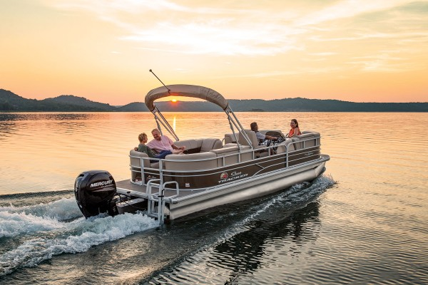 Sun Tracker Party Barge 22 DLX 2019 08