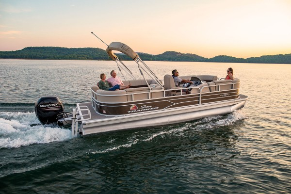 Sun Tracker Party Barge 22 DLX 2019 09