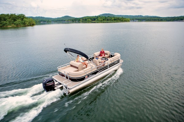 Sun Tracker Party Barge 22 RF DLX 2019 03