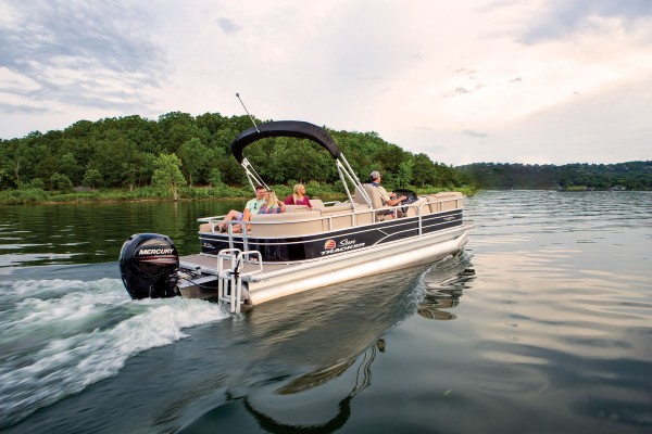 Sun Tracker Party Barge 22 RF DLX 2019 04