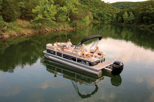 Sun Tracker Party Barge 22 RF DLX 2019 07