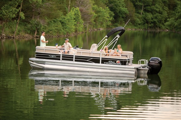 Sun Tracker Party Barge 22 RF DLX 2019 08