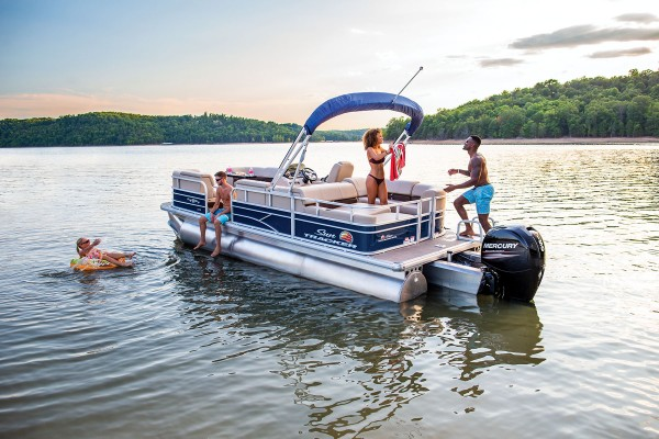 Sun Tracker Party Barge 22 RF XP3 2019 08