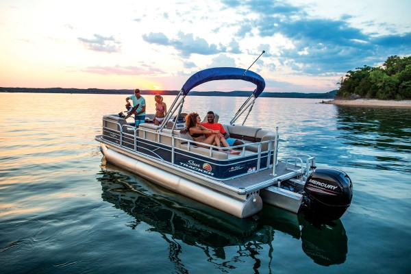 Sun Tracker Party Barge 22 RF XP3 2019 09