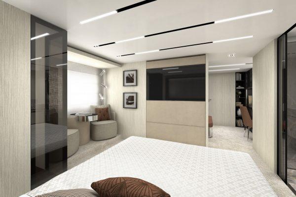 Cranchi Settantotto owner-cabin-studio-cam03
