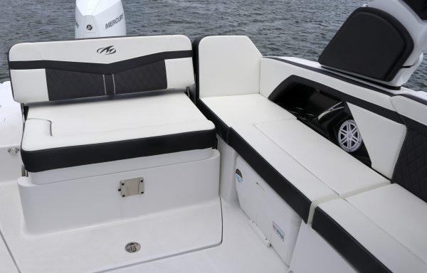 Monterey 255ss cockpit seating