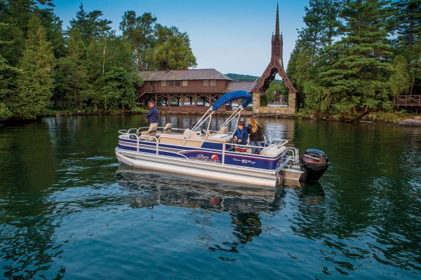 Sun Tracker Fishin Barge 22 DLX