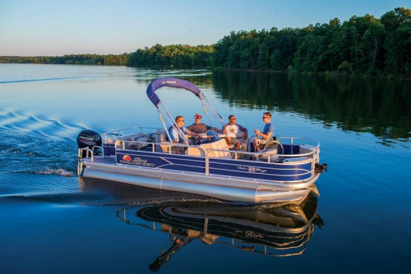 Sun Tracker Fishin Barge 22 DLX 8