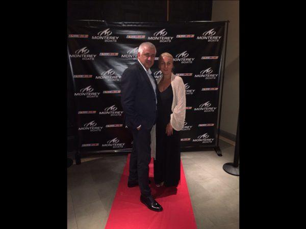 Direktor Goran Vasić sa suprugom, Monterey dealer meeting, USA Florida 2016.