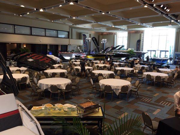 Banket sala, Monterey dealer meeting, USA Florida 2016.