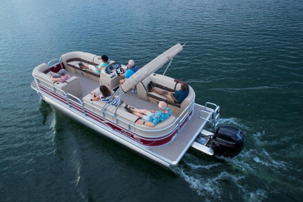 Party Barge 24 24 DLX -2