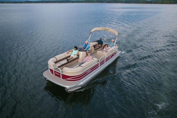 Party Barge 24 24 DLX